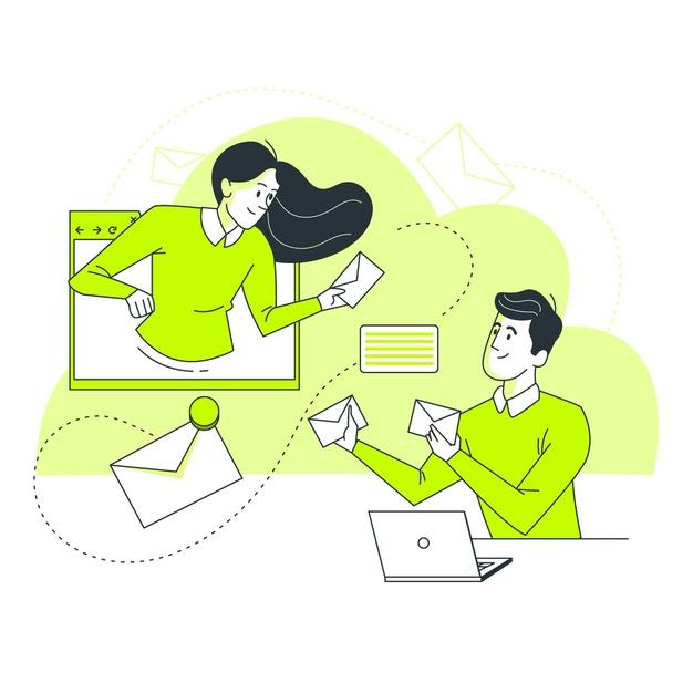 En ligne / courrier